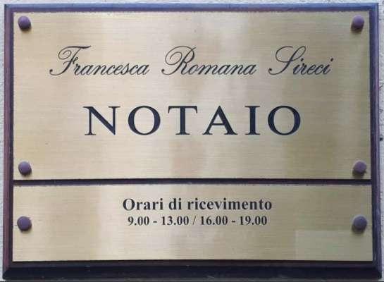 Notaio Palermo - Studio Notarile Sireci - Notaio Francesca Romana Sireci